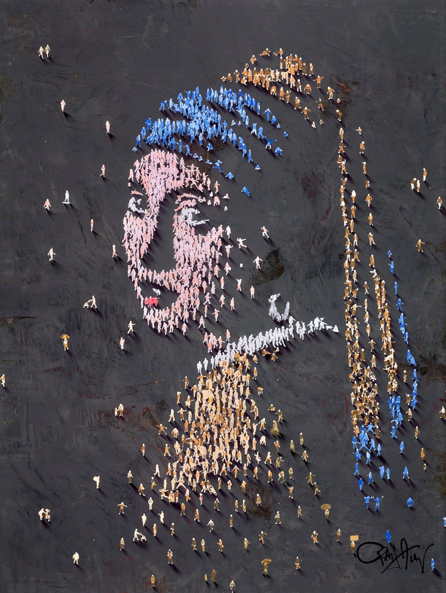 Girl with the Pearl Earring by craig alan -  sized 36x48 inches. Available from Whitewall Galleries